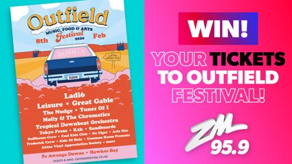 Win your tickets to Outfield!