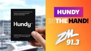 CHRISTCHURCH: Hundy in the Hand!