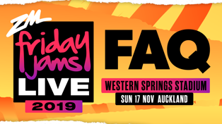 Everything you need to know for Friday Jams Live 2019!