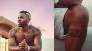 Jason Derulo shows off new Kiwi Tā Moko in shirtless pic