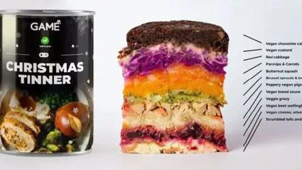 You can buy an entire Christmas dinner in a can if you're too busy to cook this year