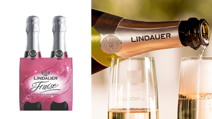 Mini bottles of Lindauer are being recalled for drinking hazard