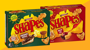 Arnott's announce 'Sausage Sizzle' and 'Meat Pie' Shapes