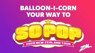 CHRISTCHURCH: ZM's So Pop Balloon-i-corn Pop to Win!
