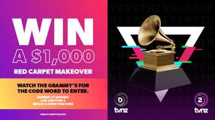 Watch the Grammys on TVNZ & Duke and win a $1000 Makeover!