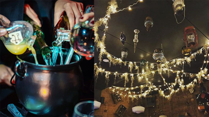 A Harry Potter-themed bar opens in NZ this week!