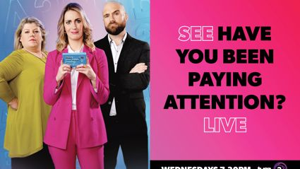 Win tickets to Have You Been Paying Attention?