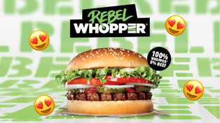 Burger King have just launched a plant-based burger!