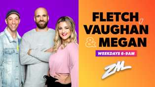 Fletch, Vaughan & Megan Podcast - February 18th