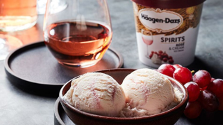 Häagen-Dazs created the boozy Rosé flavour of our dreams