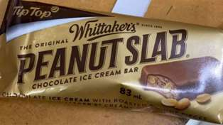 Tip Top just released a Peanut Slab ice cream with Whittaker's!