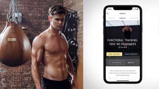 Workout with Chris Hemsworth thanks to his free fitness app!