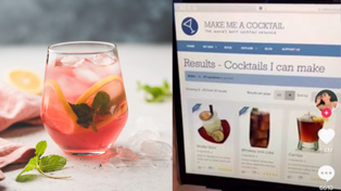 This website will create you a cocktail with only the things in your house!
