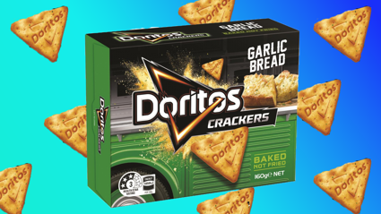 Garlic Bread Doritos crackers exist and we're in love