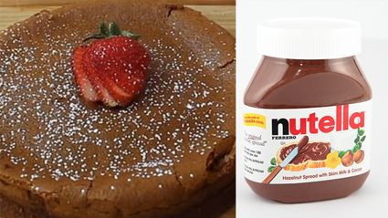 You only need two ingredients to make this incredible Nutella cake!