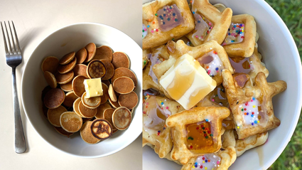 'Pancake Cereal' is taking over the internet and we don't know how to feel