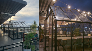 This NZ eatery has built glasshouses for socially distant dining!