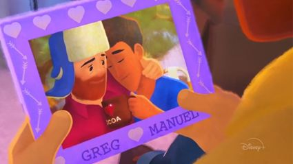 Disney+ just released its first short film with a gay lead!