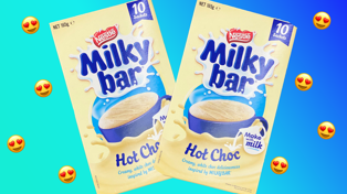 Milkybar Hot Chocolate just launched in NZ and it looks delicious!