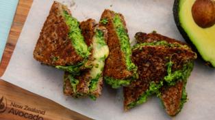 Avocado lovers NEED to try this insane avo toastie recipe!