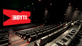 Hoyts cinemas will reopen throughout NZ, tomorrow!
