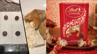 People are air frying Lindt chocolates wrapped in pastry for the ultimate treat