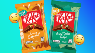 KitKat just released two brand new flavours!