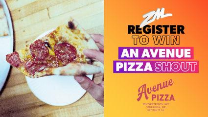 Bay of Plenty: WIN an Avenue Pizza Shout!