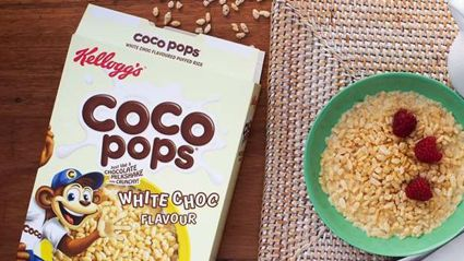 Coco Pops White Choc have hit NZ shelves!