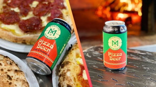 This brewery has created Pizza Beer because we can't get enough of carbs