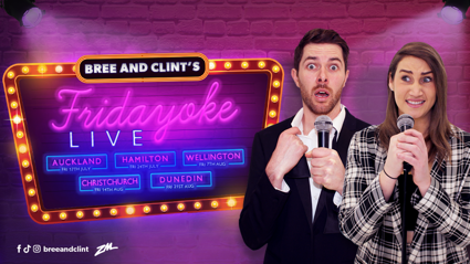 Bree & Clint's Friday-Oke Live Tour!