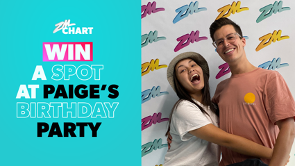 WIN a spot at Paige's birthday party with ZMChart!