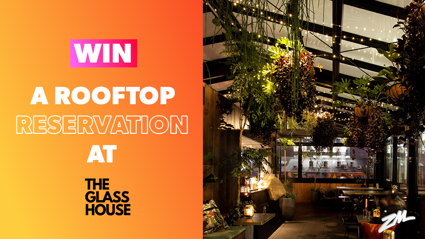 CHRISTCHURCH: Win a Rooftop Reservation at The Glasshouse