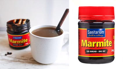 Marmite are suggesting you can drink it as a hot drink and we are grossed out