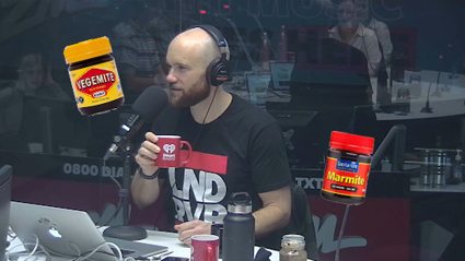 Vaughan put a hot Marmite to the test!