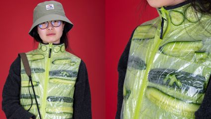 Introducing Fletch, Vaughan & Megan's NEW 'Cool as a Cucumber' Vest