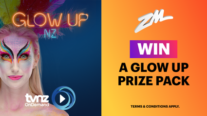 Win a Glow Up thanks to TVNZ!