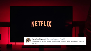 Netflix is trialling a new 'shuffle' feature