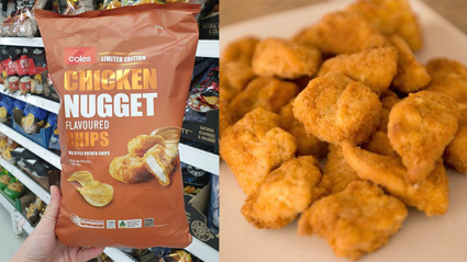 Chicken Nugget chips now exist in Australia, and we want them too