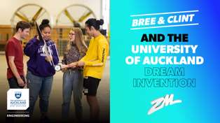 Bree & Clint and The University of Auckland Dream Invention