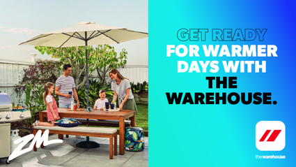 Get ready for Spring with The Warehouse