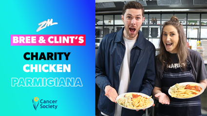 Bree and Clint's Charity Chicken Parmigiana for the Cancer Society