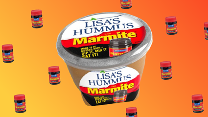Marmite Hummus exists and we're kinda keen to try it!