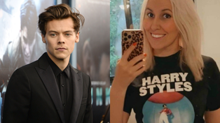 Harry Styles superfan spent $20K on world tour and wears adult nappies at the shows