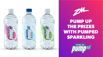 Pumped Up Prizes- Win with Pumped Sparkling