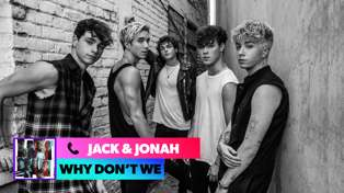 Jack and Jonah from Why Don't We spill about their new single 'Fallin'!