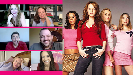 The cast of Mean Girls just reunited for the first time since the film release!