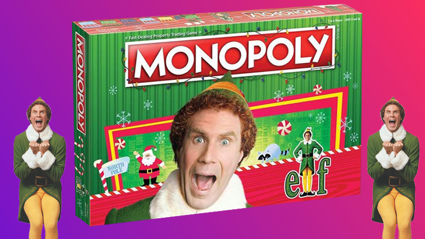 Elf Monopoly exists and now we can't wait for Christmas!