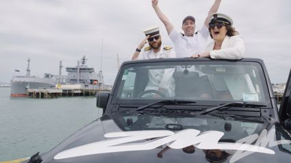 The Long Weekend Group Toot featuring the Royal New Zealand Navy!