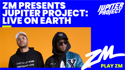 ZM Presents Jupiter Project: LIVE ON EARTH